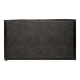 BePureHome Hoofdbord 'Snooze' Eco-leder 177cm, kleur Zwart
