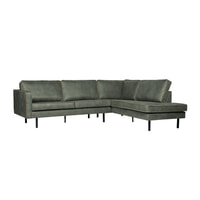 BePureHome Loungebank 'Rodeo' Rechts, kleur Army