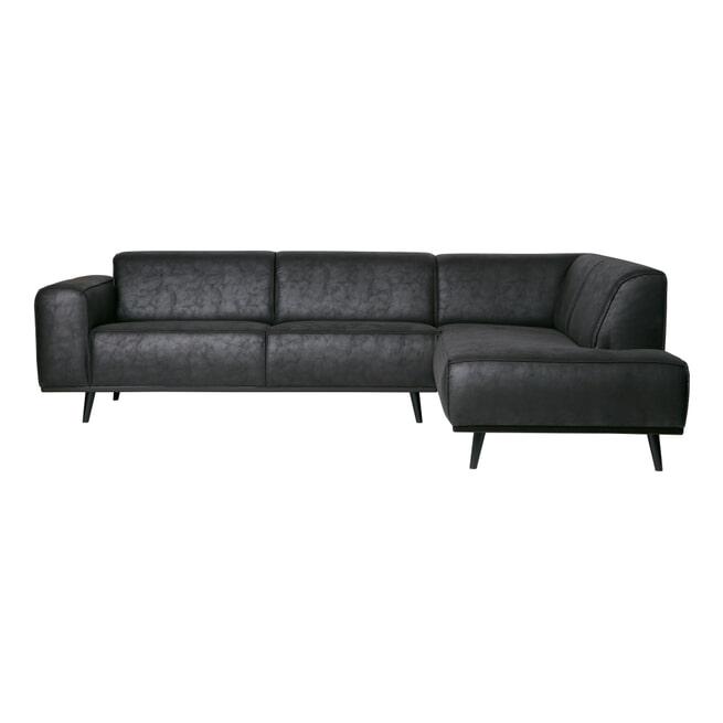 BePureHome Loungebank 'Statement' Rechts, kleur Zwart