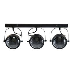 WOOOD Plafondlamp 'Lester', kleur Zwart