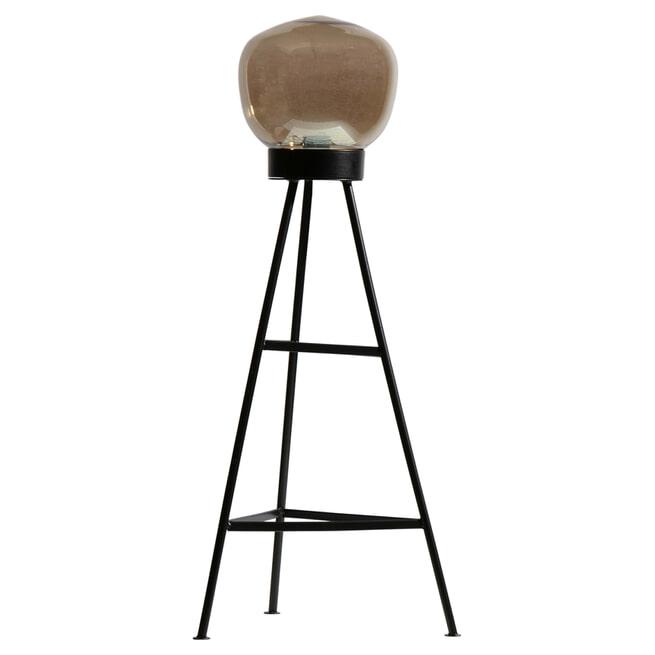 BePureHome Vloerlamp 'Dome', kleur Zwart
