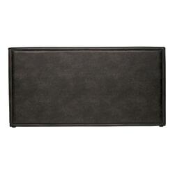 BePureHome Hoofdbord 'Snooze' Eco-leder 197cm, kleur Zwart