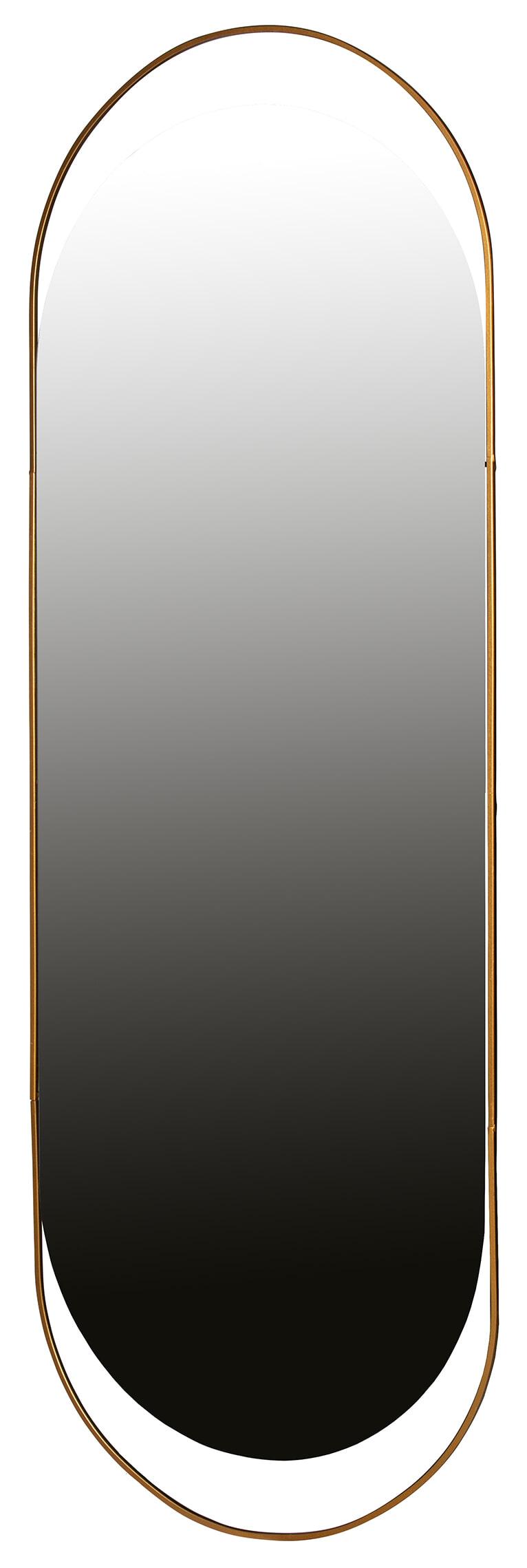 WOOOD Spiegel 'Sanou' 168 x 60cm, kleur Antique Brass
