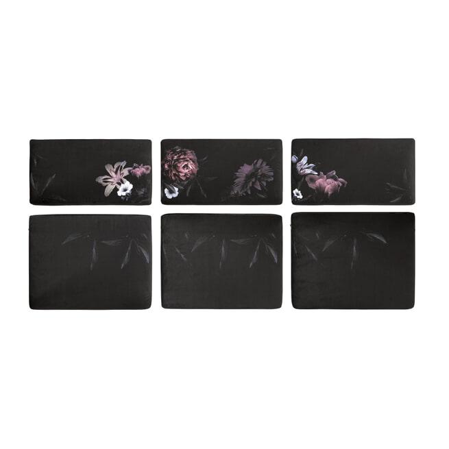 BePureHome Tuinkussen 'Rodeo' Set van 6 stuks, kleur Velvet Flower