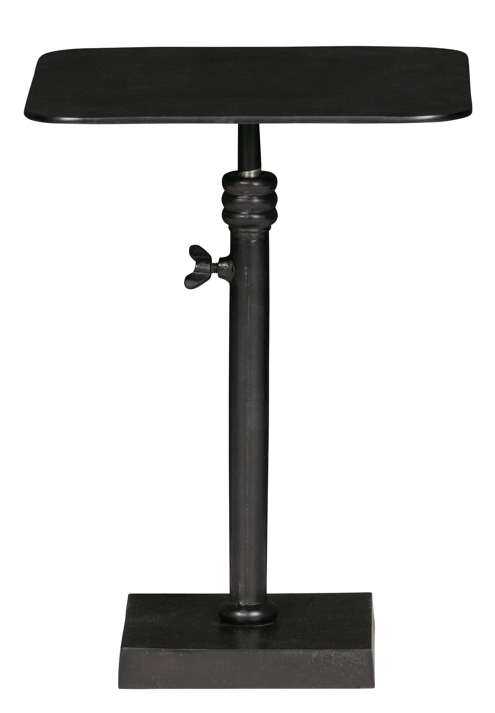 BePureHome Atelier Bijzettafel Metaal Mat zwart 50x35x35 online kopen