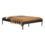 WOOOD Bed 'Pepijn' 160 x 200cm, kleur Zwart
