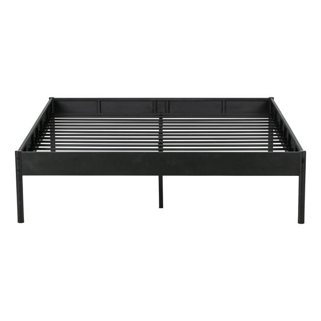 WOOOD Bed 'Pepijn' kleur zwart