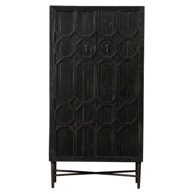 BePureHome Opbergkastje 'Bequest' 143 x 75cm, kleur Zwart