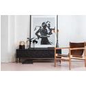 BePureHome TV-meubel 'Bequest' 160cm, kleur Zwart