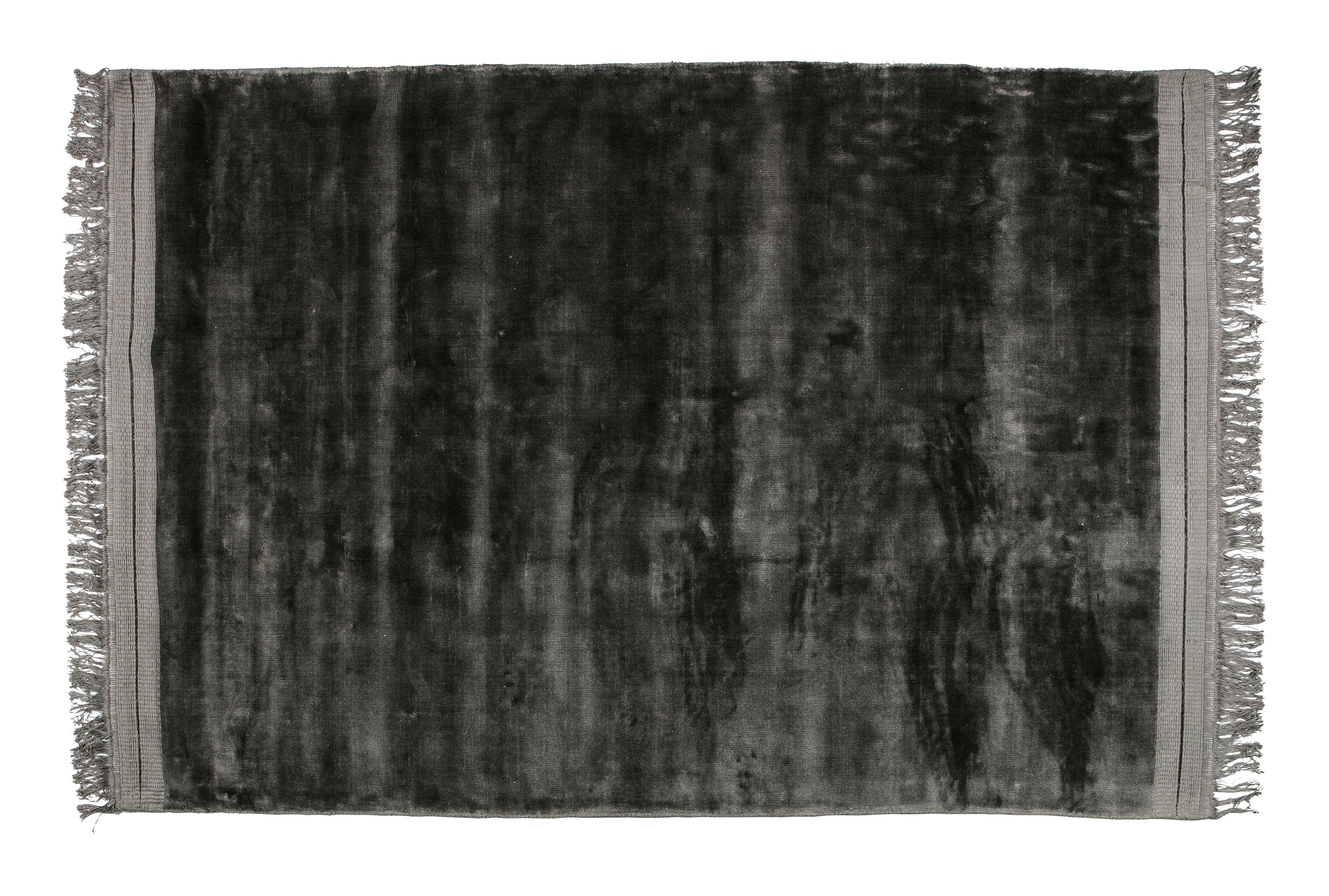 BePureHome Vloerkleed 'Ravel' 170 x 240cm, kleur antraciet