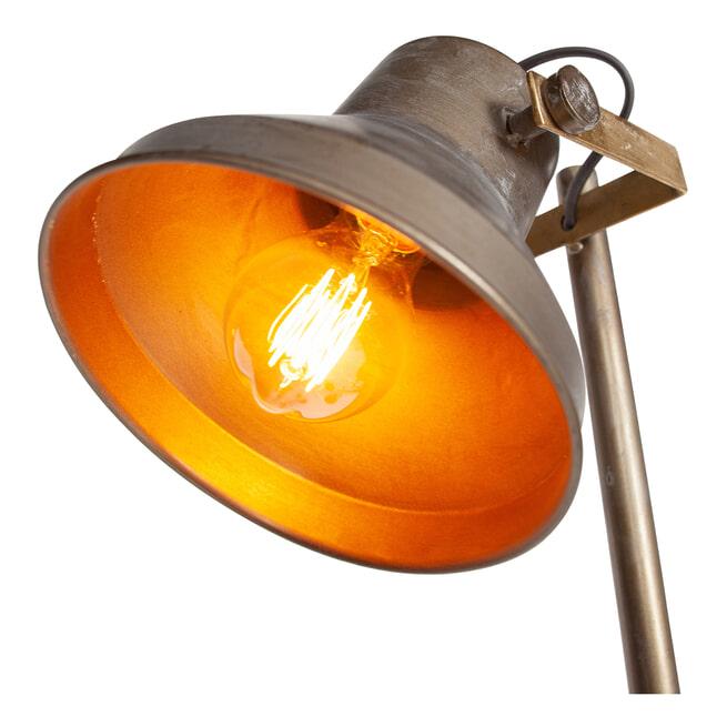 BePureHome Vloerlamp 'Triplet', kleur Antique Brass