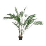 WOOOD Kunstplant 'Palm', kleur Groen