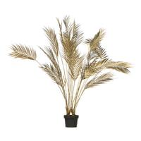 WOOOD Kunstplant 'Palm', kleur Goud