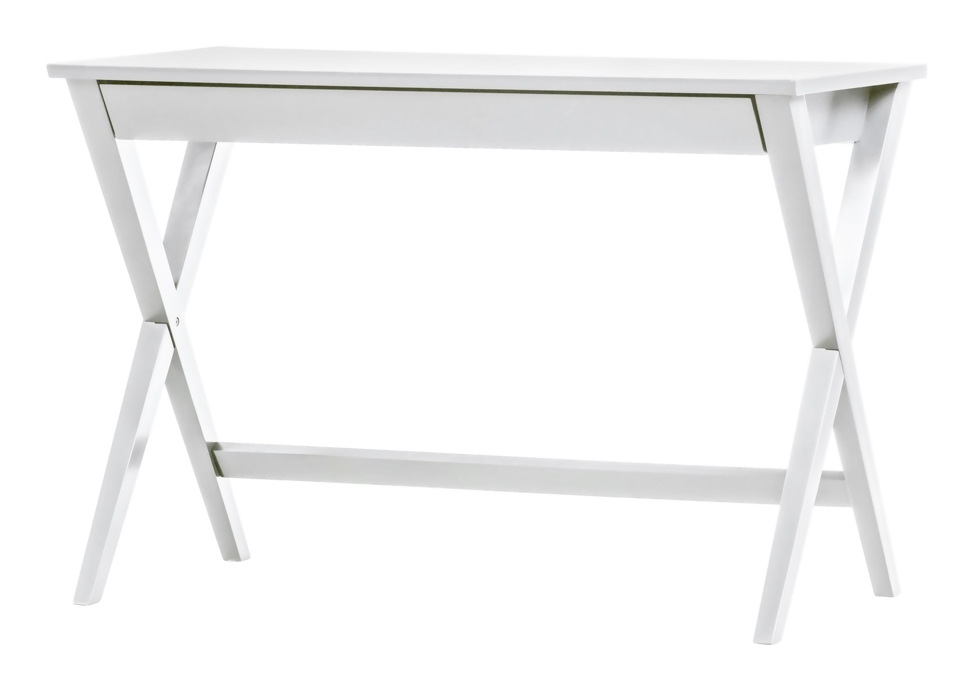 WOOOD Bureau 'Mia', kleur Wit Tafels | Bureaus vergelijken doe je het voordeligst hier bij Meubelpartner