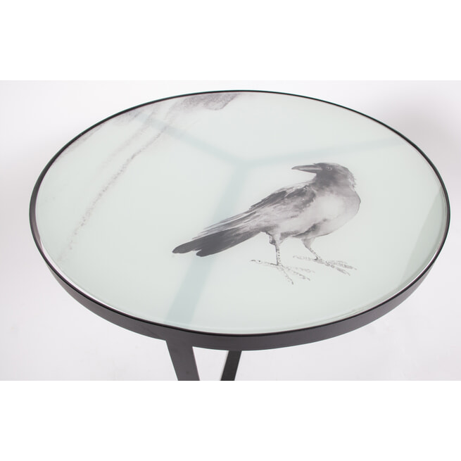 BePureHome Bijzettafel 'Fly' 55cm, kleur Zwart
