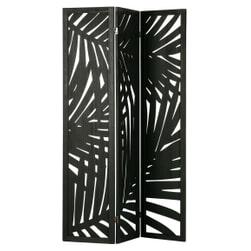 WOOOD Roomdivider 'Harper', kleur Zwart