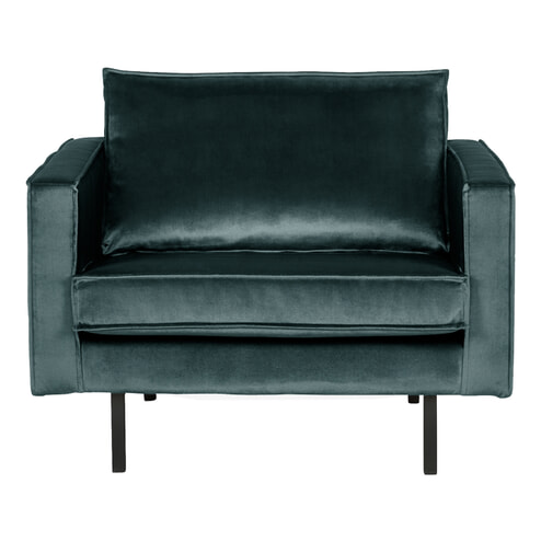 BePureHome Fauteuil 'Rodeo', kleur Teal