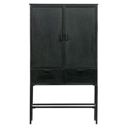 BePureHome Opbergkast 'Wish' 151 x 87cm, kleur Zwart