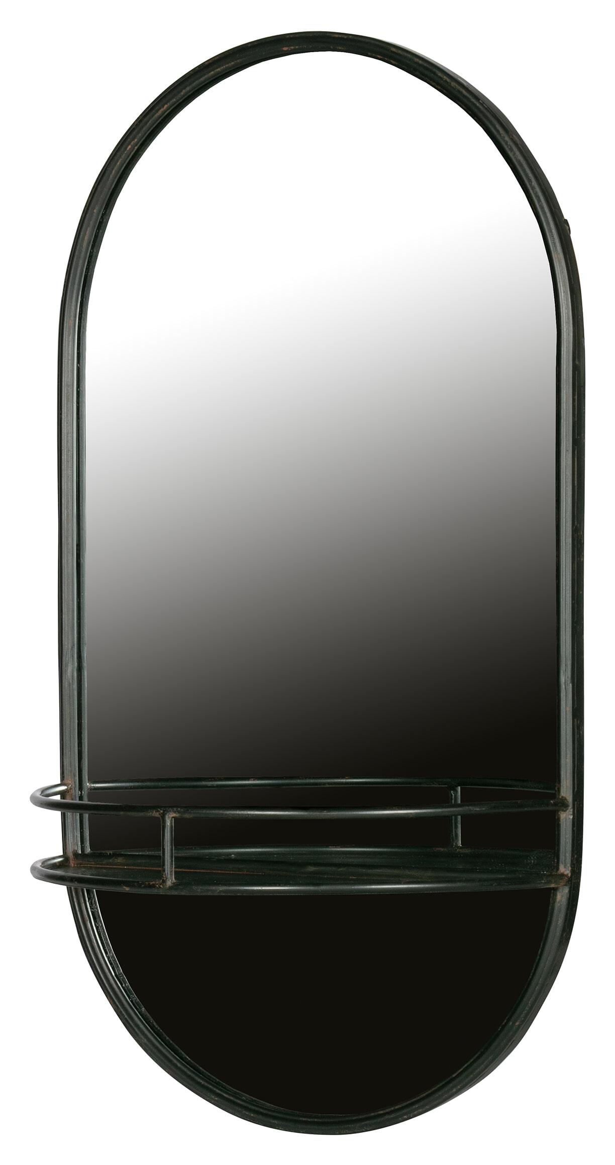 BePureHome Make-up spiegel Metaal Zwart 76x42x20 online kopen