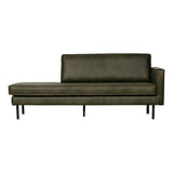 BePureHome Daybed 'Rodeo' Rechts, kleur Army