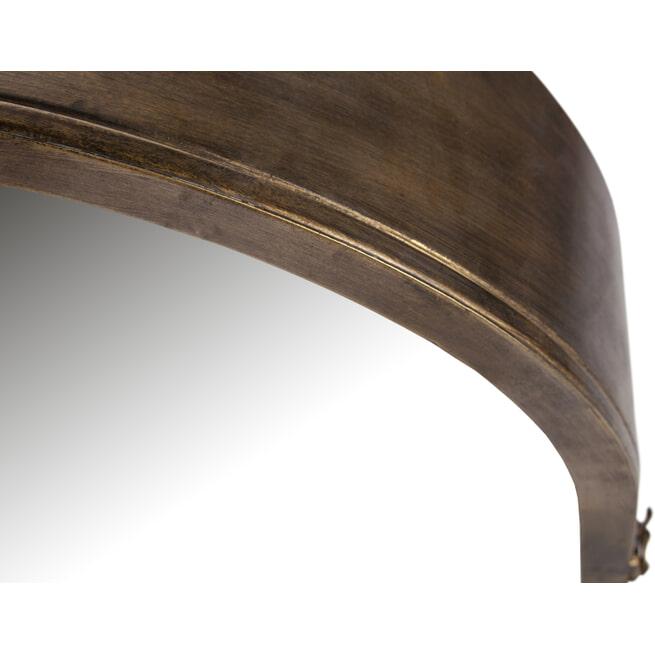 BePureHome Spiegel 'Unfold' 60 x 47cm, kleur Antique Brass
