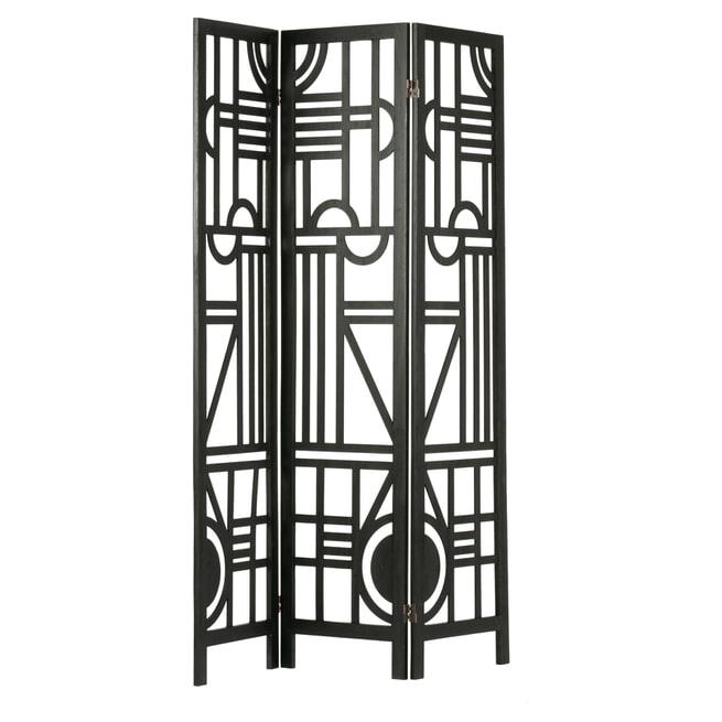 WOOOD Roomdivider 'Hera', kleur Zwart