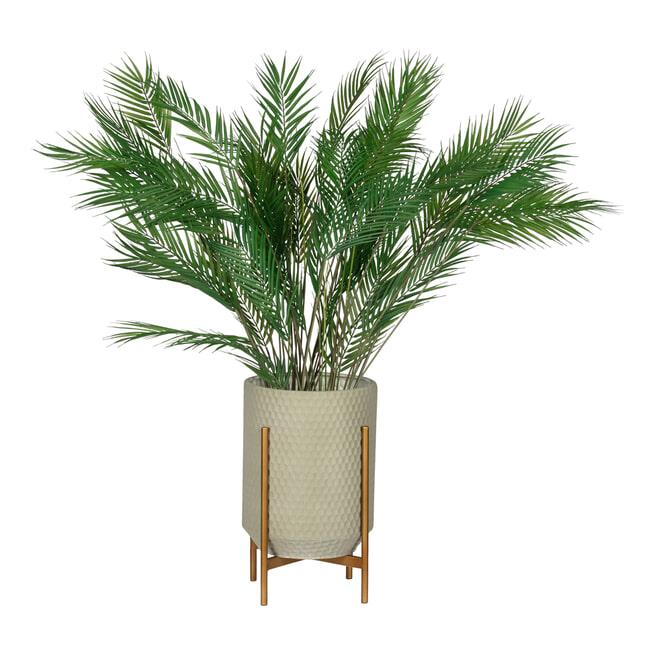 WOOOD Plantenstandaard 'Juul' 50cm, kleur Betongrijs