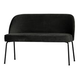 BePureHome Eetkamerbank 'Vogue', kleur Zwart