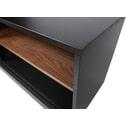 WOOOD TV-meubel 'James' 180cm, kleur Zwart