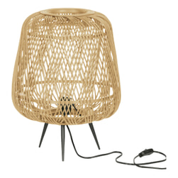 WOOOD Exclusive Tafellamp 'Moza', kleur Naturel
