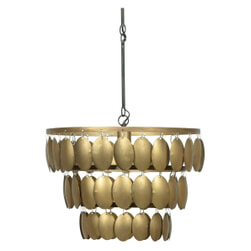 BePureHome Hanglamp 'Moondust', kleur Antique Brass