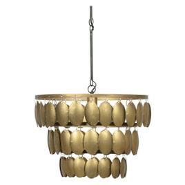 BePureHome Hanglamp 'Moondust', kleur Antique Brass