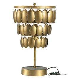 BePureHome Tafellamp 'Moondust', kleur Antique Brass
