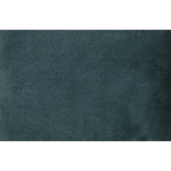 WOOOD Bank 'Rocco' 4-zits, Velvet, kleur Teal