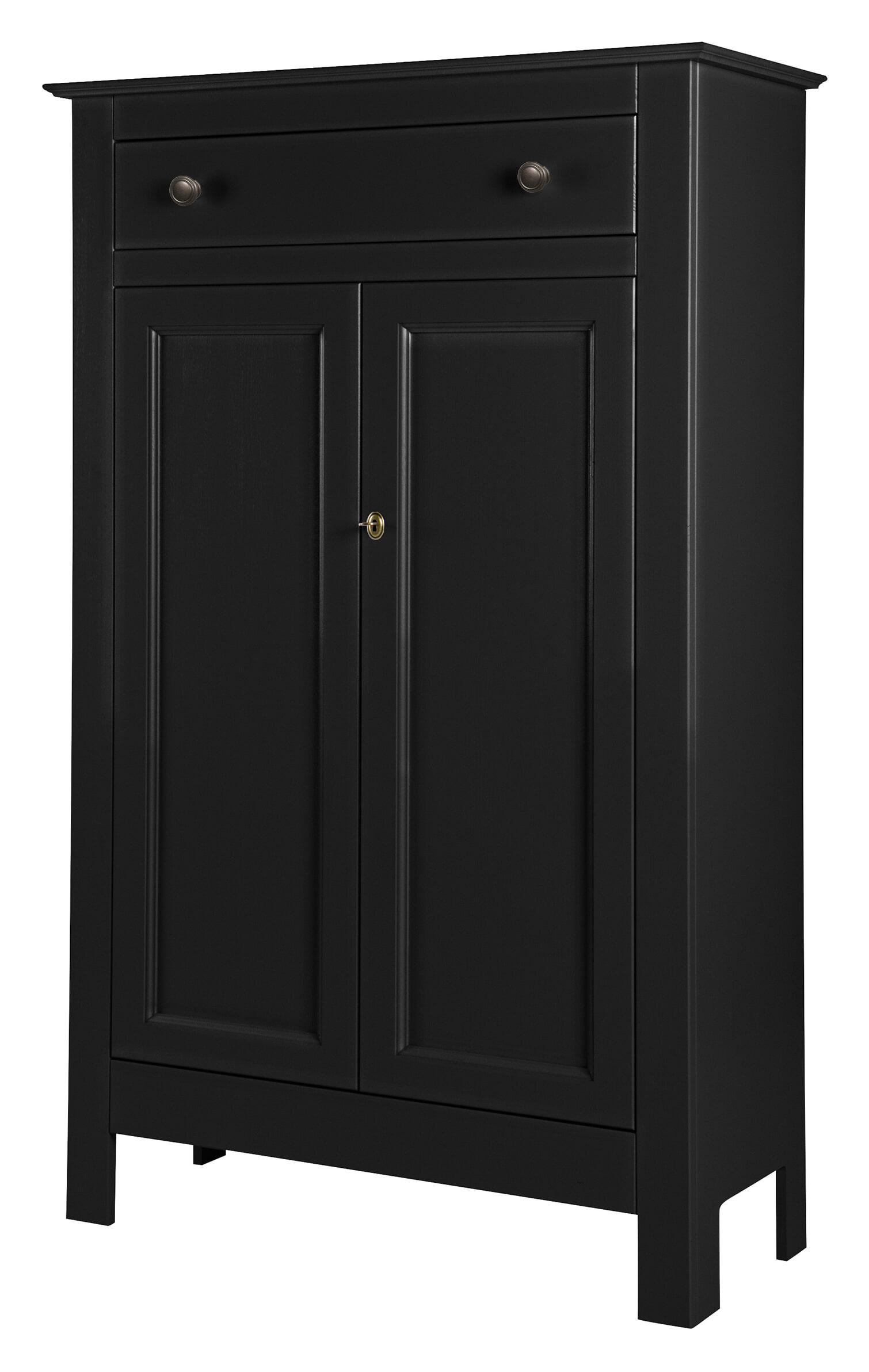 WOOOD Opbergkast Eva 150 x 93cm, kleur Zwart