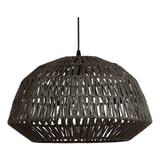 WOOOD Exclusive Hanglamp 'Kace' Jute, kleur Zwart