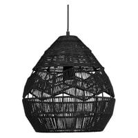 WOOOD Exclusive Hanglamp 'Adelaide' Ø35cm, kleur Zwart