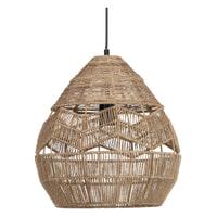 WOOOD Exclusive Hanglamp 'Adelaide' Ø35cm, kleur Naturel