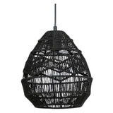 WOOOD Exclusive Hanglamp 'Adelaide' Ø25cm, kleur Zwart