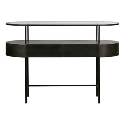 WOOOD Exclusive Sidetable 'Imani' met 2 laden, 120 x 46cm