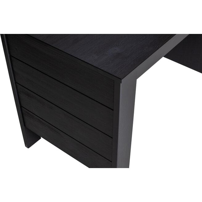 WOOOD Bureau 'Dennis', kleur Zwart