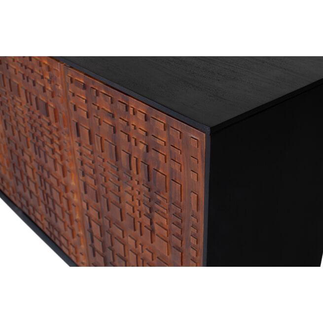 BePureHome Dressoir 'Nuts' Sheesham hout, 170cm