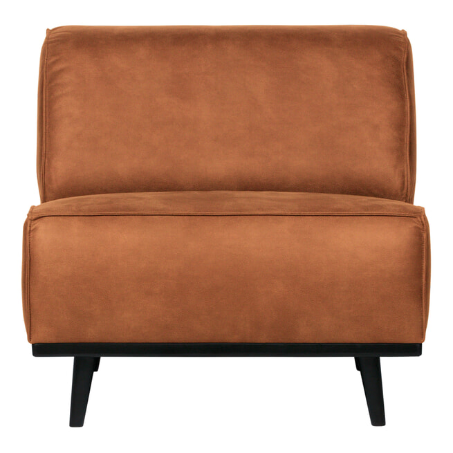 BePureHome Fauteuil 'Statement' Eco Leder