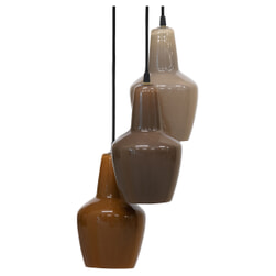 BePureHome Hanglamp 'Pottery' 3-lamps