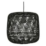 WOOOD Hanglamp 'Moza', kleur Zwart, Ø70cm