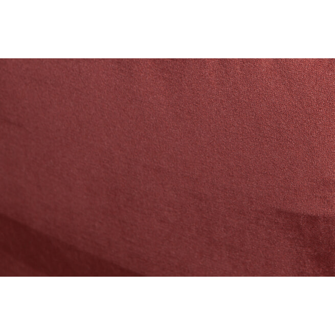 BePureHome Bank 'Rodeo' Classic 3-zits, Velvet, kleur Chestnut