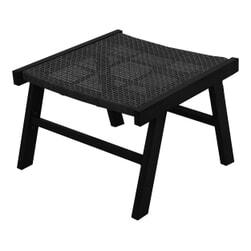 WOOOD Hocker 'Puk' kleur Zwart