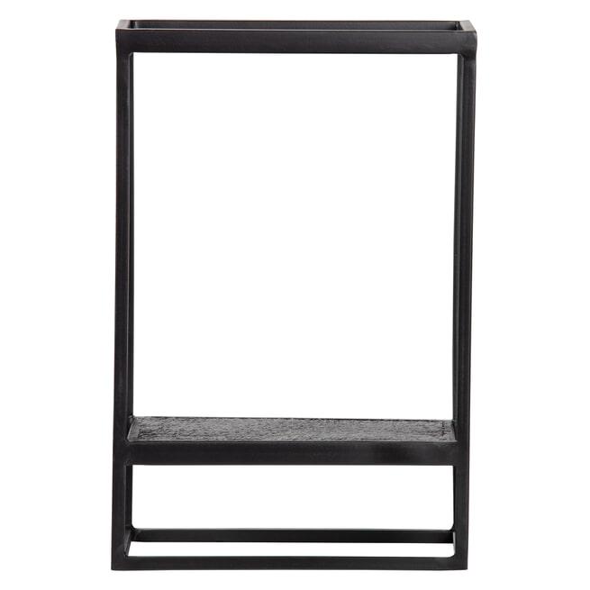 WOOOD Wandplank 'Febe' kleur Zwart