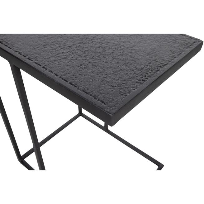 WOOOD Laptoptafel 'Febe' kleur Zwart