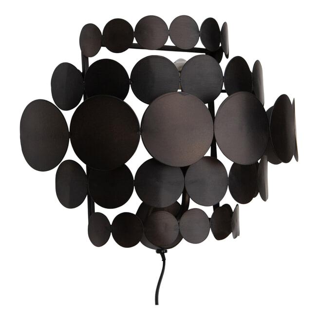 BePureHome Wandlamp 'Kaki' kleur Zwart